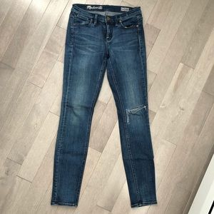 Denim - Madewell Skinny Jeans